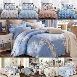 100% cotton duvet cover set--3 Piece Duvet Covers and Pillow