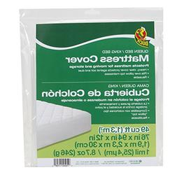 """Duck Brand 1140236 King or Queen Sized Mattress Cover, 76"""" x"""