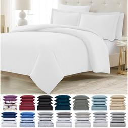 Mellanni Duvet Cover Set 5-Piece 1800 Hotel Collection w/ Bu