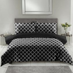 Egyptian Duvet Cover Set 1800 Series Luxury Quality 3 Piece,