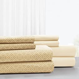 Amrapur Overseas 1MF2CLSG Sheet Set, Queen, Light Sand