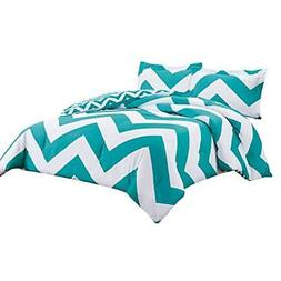 "3-piece Chevron Zig Zag Comforter Bedding Set  Home "" Kitche"