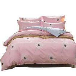 Uozzi Bedding 3 Piece Duvet Cover Set Queen/Full, Reversible