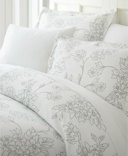 iEnjoy Home 3 Piece FULL/QUEEN Duvet Cover Set Elegant Desig
