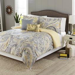 Better Homes and Gardens 5-Piece Bedding Comforter Set, Yell