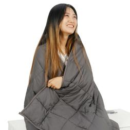 60x80 weighted blanket 20lbs full queen size