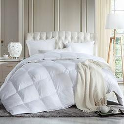 LUXURIOUS FULL / QUEEN Size Siberian GOOSE DOWN Comforter, D