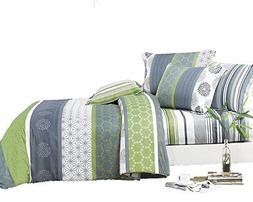 Swanson Beddings Serene 3-Piece 100% Cotton Bedding Set: Duv