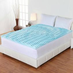 ALL Size Foam Mattress Topper 3 Inch Gel Orthopedic Pad Cove