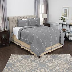 Rizzy Home Andrew Charles Collection Vertical Stripe Ozee Ma
