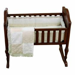 Baby Doll Bedding Queen Crib Bedding Set, Ivory