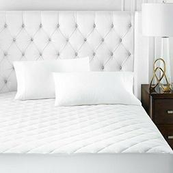 Beckham Hotel Collection Microfiber Mattress Pad - Quilted,