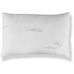 - Bed Pillows & Positioners Slim Hypoallergenic Bamboo Shred