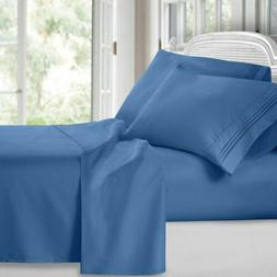 Bed Sheets & Pillow Cases Microfiber Complete Set 4pc By Uto