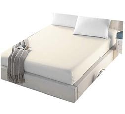 4U LIFE Bedding Fitted Sheet-Prime 1800 Series, Double Brush