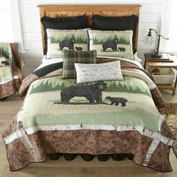BIRCH BEAR Quilts & Accessories - Rustic Lodge Country Beddi