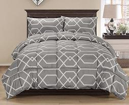 Blake by Chezmoi Collection 3-Piece Contemporary Geometric R