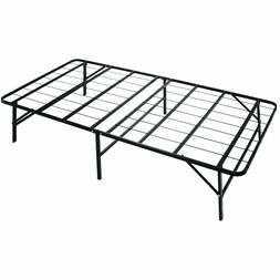 Box Spring Replacement Metal Platform Bed Frame Twin Size Ma
