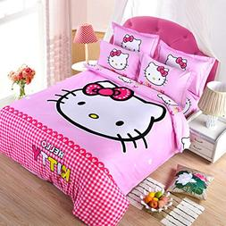 CASA Children 100% cotton series HELLO KITTY duvet cover & p