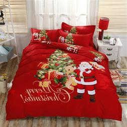Christmas Bedding Set Holiday Season Home Bedroom Accessorie