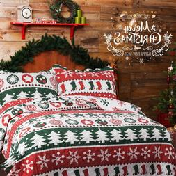 Christmas Snow Bedsure Printed Twin Full Queen King Size Bed