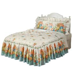 Coastal Beach Seashell Bedspread, by Collections Etc