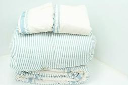 Lush Decor Comforter Farmhouse Stripe 3 Piece Reversible Bed