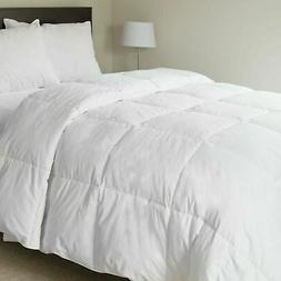 Lavish Home 100-Percent Cotton Feather Down Bedding Comforte