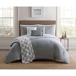Jennifer Adams Home CS2139FQ7-1300 7 Piece Comforter Srt, Fu