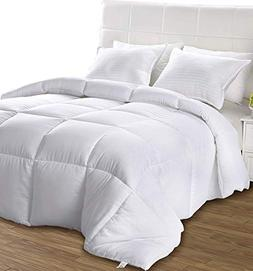 Utopia Bedding All Season Comforter - Ultra Soft Down Altern