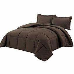 Chezmoi Collection Down Alternative Comforter 3-Piece Queen