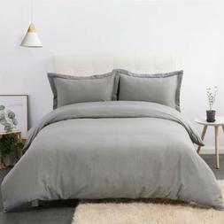 DUMEE 100% Cotton Cloth Duvet Cover Queen/Full Size Bedding