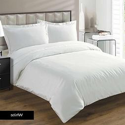 1 Piece Duvet Cover Premium Quality Egyptian Cotton 600 Thre