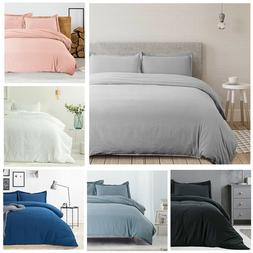 Bedsure Duvet Cover Set Zipper Closure Ultra Soft Hypoallerg