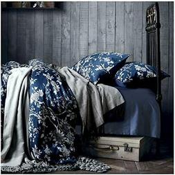 Eastern Floral Chinoiserie Blossom Print Duvet Quilt Cover N
