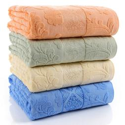 fast shipment cotton blanket pure cotton towel blankets thro