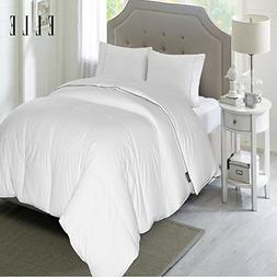 Fill Power 1200 Thread Count Cotton Rich Down Comforter, Ful