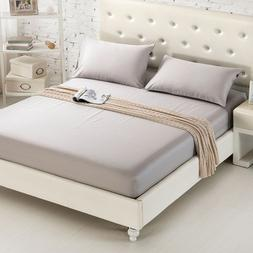 Fitted <font><b>Sheet</b></font> Mattress Cover <font><b>Sol