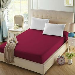4U'life-Fitted sheet,Prime 1800 Series,Double Brushed Microf