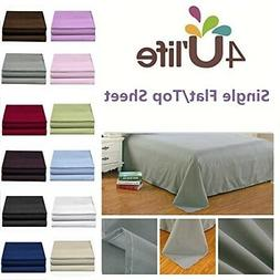 4U LIFE Flat sheet-Ultra soft and Confortable Microfiber-Pin