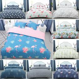 Floral Bedding Set Duvet Cover Set Comforter Cover Single Fu