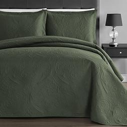 Comfy Bedding Floral Thermal Pressing 3-piece Oversized Cove