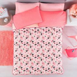 FLOWERS PRETTY COLLECTION TEENS GIRLS REVERSIBLE BEDSPREAD 1
