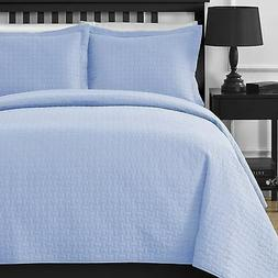 Comfy Bedding Frame Thermal Pressing 3-piece Oversize Coverl