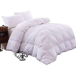 "Goose Down Filling Queen Bedding Comforter, White Home "" Kit"