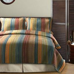 Greenland Home Katy Quilt & Sham Set Twin Full/Queen Or King