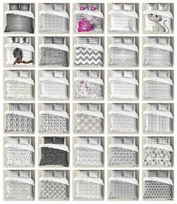 Grey Ambesonne Duvet Cover Set Twin Queen King Sizes with Pi