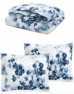 Ralph Lauren Home Flora FULL/QUEEN 3 -PCs Comforter Set Blue