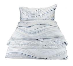 Calvin Klein Home Quartz, Queen Comforter Set, Fog, 3 Piece
