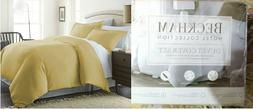 King Duvet Cover Set With 2 Pillow Shams Luxury  3 Piece Cre